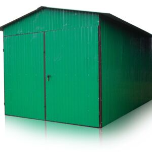 Plechová garáž 3x5 sedlová strecha