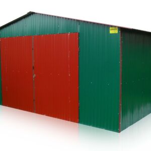 Plechová garáž 5x3 sedlová strecha