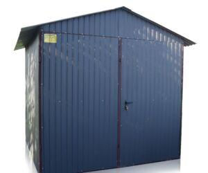 Plechová garáž 2,5x5 sedlová strecha