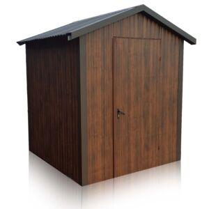 Plechová garáž 2x2 sedlová strecha