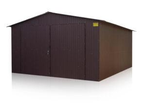 Plechová garáž 4x6 sedlová strecha BTX 8017