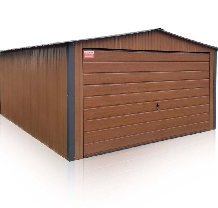 Plechové garáže