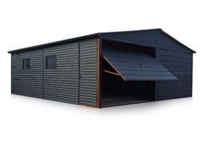 Dvojitá garáž 6*5 m,dvoj-spád