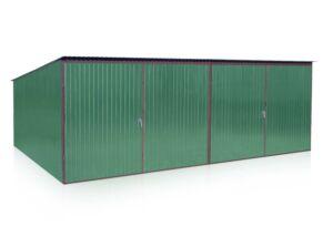 Štandartná garáž 6x5m so spádom strechy do zadu