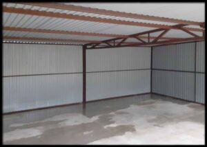 Konštrukcia garáže 6x5